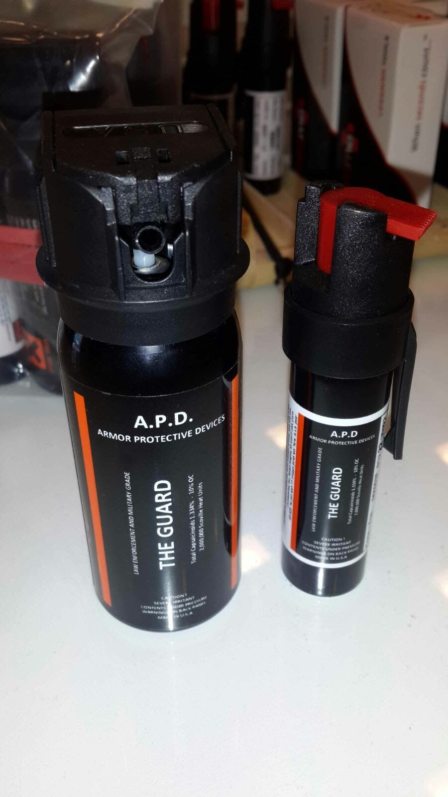 APD - תרסיס פלפל אישי קטן להגנה עצמית איי.פי.די - Armor protective devices Pepper Spray
