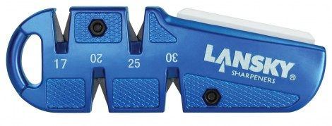 lansky - משחיז ידני 4 חריצים ואבן קוואדשרפ לנסקי - QuadSharp Pocket Sharpener