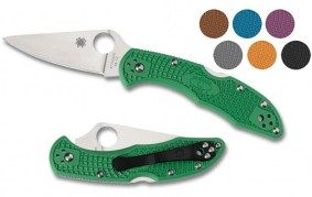 Spyderco - אולר ספיידרקו דליקה - DELICA 4 FLAT GROUND FRN